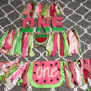 ONE in a melon party decorations